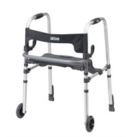 DRIVE CLEVER-LITE LS WALKER WITH SEATS & PUSH