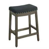 HOMEPOP COUNTER STOOL (NOT ASSEMBLED)