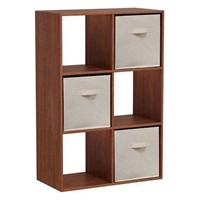 HOMESTAR CUBE BOOKCASE (BINS NOT INCLUDED; NOT