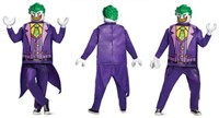 "LEGO BATMAN MOVIE ""JOKER COSTUME""  SMALL"