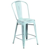 COUNTER HEIGHT BAR STOOL (4 IN TOTAL; NOT