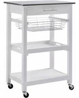 LINDEN KITCHEN CART(NOT ASSEMBLED)