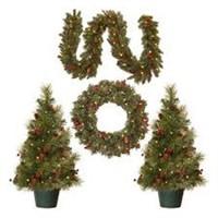 NATIONAL TREE CHRISTMAS ASSORTMENT DECORATION