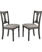 TOAL OF 2 PC SIDE CHAIR FROM P2 CALIFORNIA