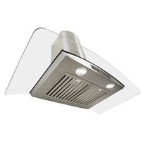 CONVERTIBLE WALL MOUNT RANGE HOOD IN STAINLESS