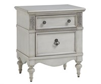 GISELLE NIGHTSTAND IN ANTIQUE WHITE