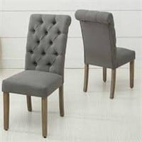 TOTAL OF 2 DINING CHAIRS(NOT ASSEMBLED)