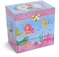 MERMAID PRINCESS MUSICAL JEWELLERY BOXES