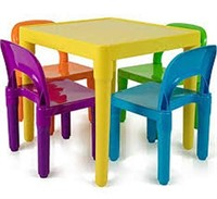 OXGORD TABLE AND CHAIR SET FOR KIDS (NOT