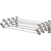 WOOLITE ACCORDION WALL DRYING RACK COLLAPSIBLE