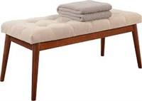 CONVENIENCE CONCEPTS MID CENTURY BENCH (NOT