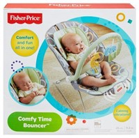FISHER PRICE SOOTHING AND FUN ALL IN ONE COMFY