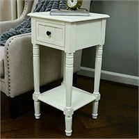 DECOR THERAPY SIMPLIFY ACCENT TABLE WITH DRAWER