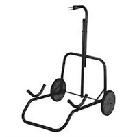 INDIAN ARCHER BLACK WHEELED TARGET STAND