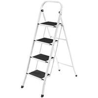 VON HAUS 4  STEP STEEL LADDER (143X47X4 CM)