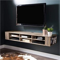 SOUTH SHORE WALL MOUNTED MEDIA CONSOLE (NOT