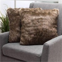 FAUX FUR PILLOW(PAIR)