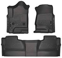 HUSKY WEATHERBEATER FRONT AND 2ND SEAT FLOOR LINER