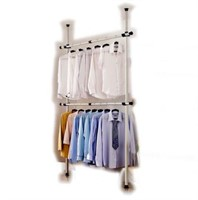 GOLDCART GARMENT RACK(NOT ASSEMBLED)