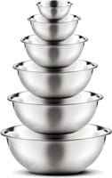 Finedine 6-Pc Stainless Steel Mixing Bowls
