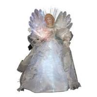 """Kurt S. Adler 12"""" LED Fiber Optic Angel for Tree"""