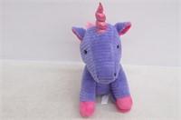 Small Plush Purple Unicorn