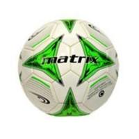 Green Matrix Soccer Ball