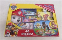 Paw Patrol First Look & Find Book & Giant Puzzle