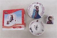 Disney Frozen 3pc Dinnerware Set