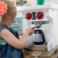 Step2 Coffee Bean Cafe & Kitchen Playset, Gray