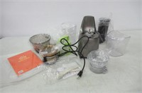 Kuvings Whole Slow Juicer B6000S, Silver, includes