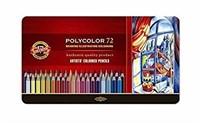 Koh-I-Noor Polycolor Drawing Pencil Set, 72