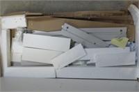 Tvilum 80122uu Walker 2 Drawer Desk, White High