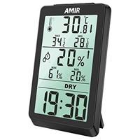 AMIR Digital Hygrometer, Indoor Thermometer
