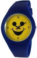 TKO Unisex Sports Rubber Band Fun Blue Ice Watch