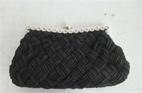 """""""As Is"""" Missy K Interwoven Clutch Purse, with 2"""