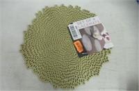Benson Mills Blossom Pressed Vinyl Placemat, (Set
