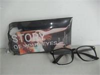 TIJN Stylish Wayfarer Non-prescription Glasses