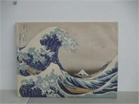 The Great Wave off Kanagawa' by Katsushika Hokusai