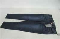 Wit&Wisdom Womens 10 Skinny Jeans, Dark Wash