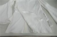 Ellery Womens 2 Bell Sleeve Tye Top, White