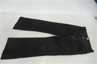 J Brand Womens 24 Boot Cut Jeans, Black