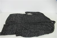 """As Is"" Caslon Womens 2XL Cardigan, Black/White"