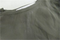 """""""As Is"""" DR2 Womens Small Flowy Top, Army Green"""