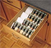 Rev-A-Shelf Cut-to-Size Spice Drawer Insert