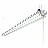 Hykolity 4FT 40W LED Shop Light with Pull Chain,