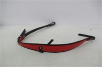 Fever ROS1204-RD Accordion Strap Red Leather