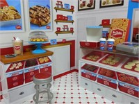 MiWorld Mrs. Fields Cookie Shop Playset