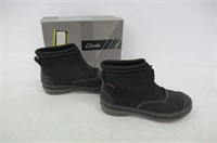 """""""Used"""" Clarks Womens 8 Muckers Ruck - Black"""