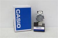 Casio Men's EAW-MTP-4500D-1AV Slide Rule Bezel